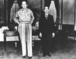 MacArthur and Emperor Showa