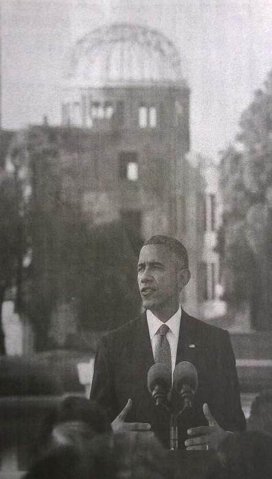 Obama Hiroshima Genbaku Dome