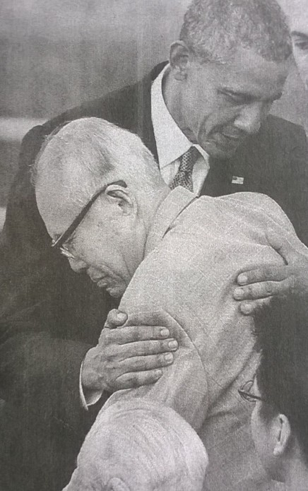 Obama Hiroshima hibakusha