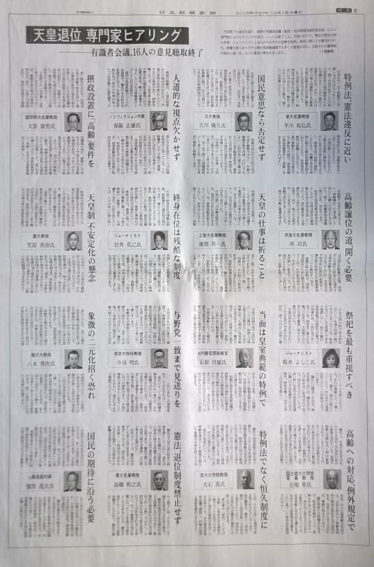 日本経済新聞2016年12月1日