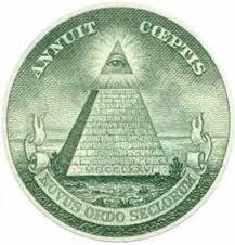 アメリカ・ドル札の裏に印刷された「全てを見通す目」はイルミナティのシンボル