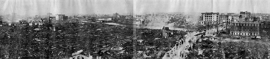 Desolation_of_Nihonbashi_and_Kanda_after_Kanto_Earthquake