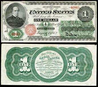 US-$1-LT-1862-Fr-16c