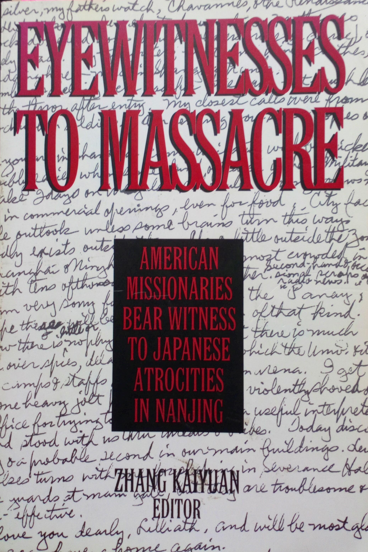 本 Eyewitnesses to Massacre