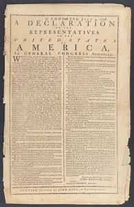 アメリカ独立宣言