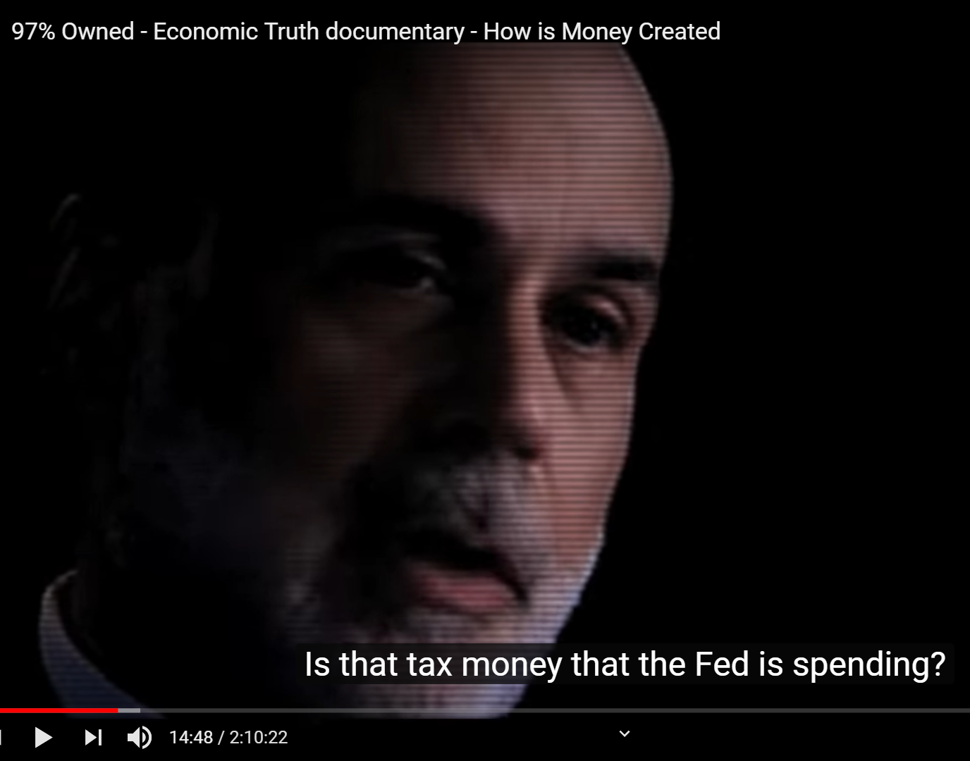Ben Bernanke Explains