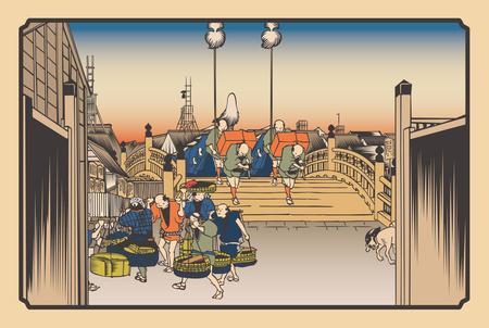 江戸 日本橋
